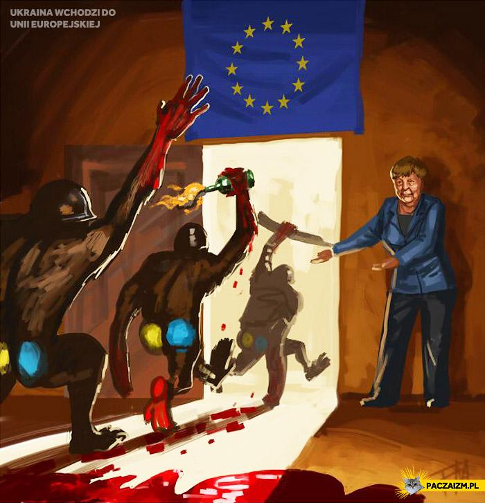 Ukraina wchodzi do Unii Europejskiej