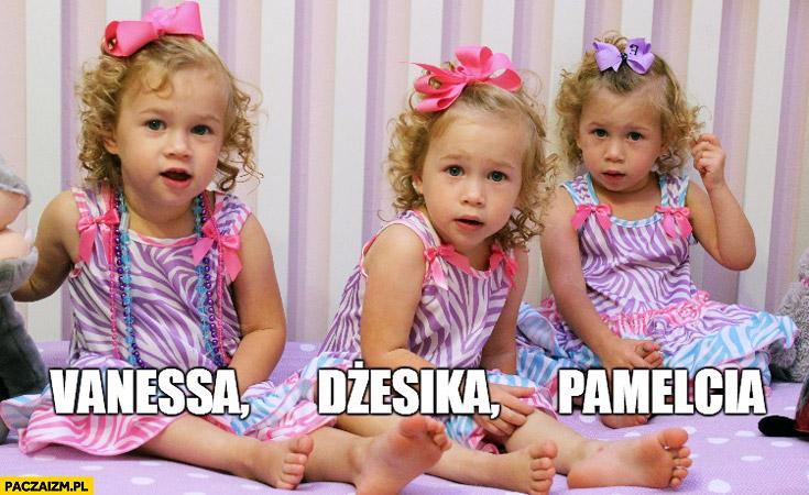 Vanessa Dżesika Pamelcia imiona dla dzieci