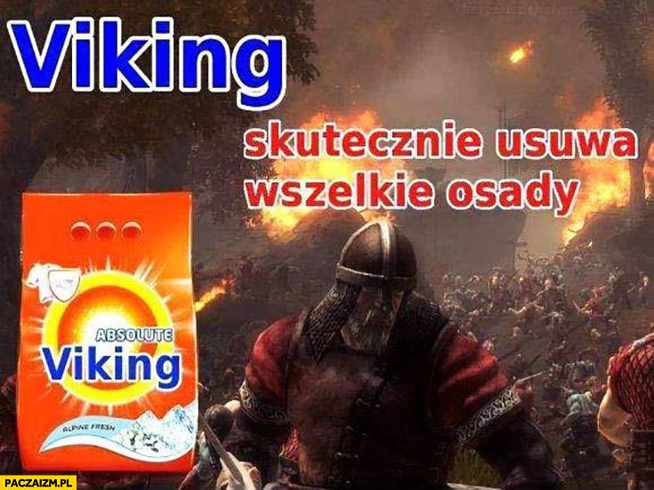 Viking skutecznie usuwa wszelkie osady proszek płyn do prania