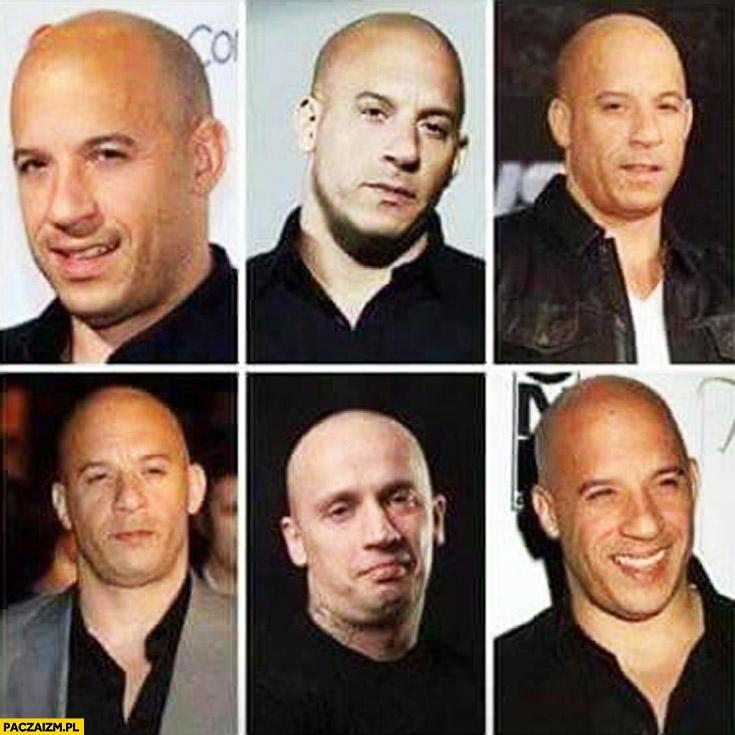 Vin Diesel Rychu Peja mem podobni
