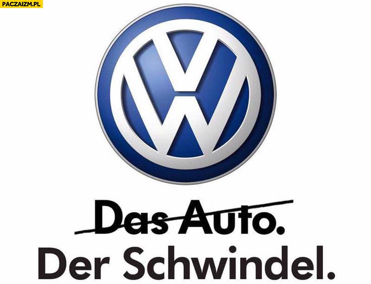 Volkswagen das Auto der Schwindel