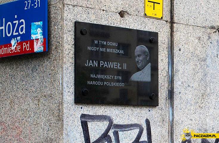 W tym domu nigdy nie mieszkał Jan Paweł II