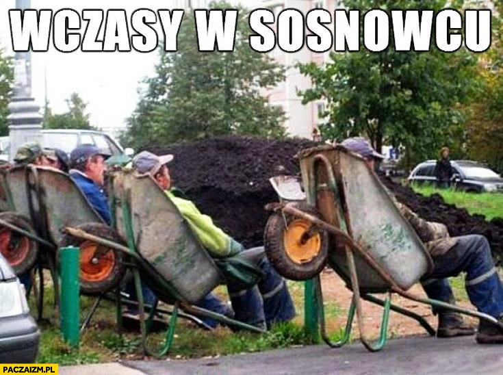 Wczasy w Sosnowcu leżą na taczkach