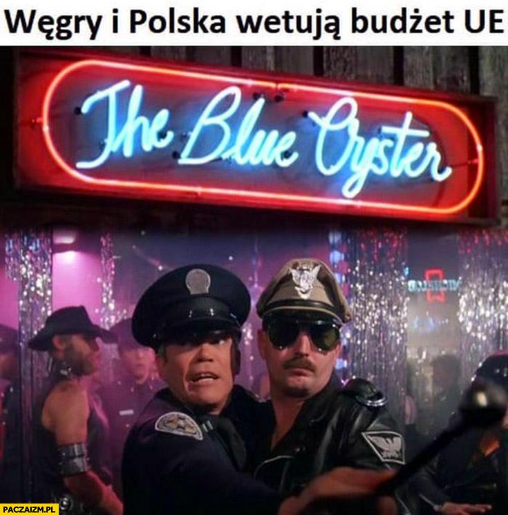 Węgry i Polska wetują budżet UE geje homoseksulaisci orgia