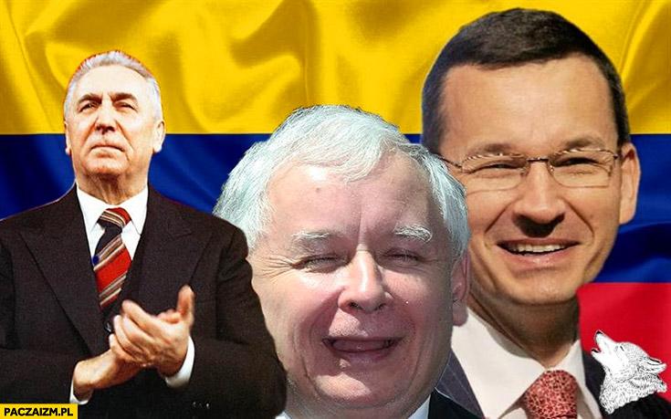 Wenezuela plus Kaczyński Morawiecki Gierek przeróbka