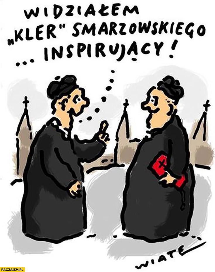 Widziałem film Kler Smarzowskiego inspirujący księża rozmawiają