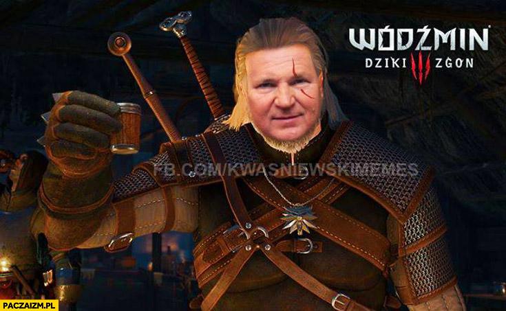 Wiedźmin dziki zgon Kwaśniewski