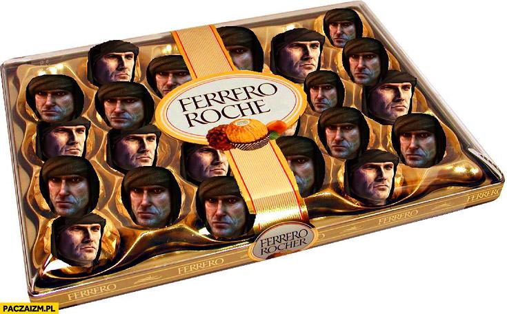 Wiedźmin Ferrero Roche Vernon Roche