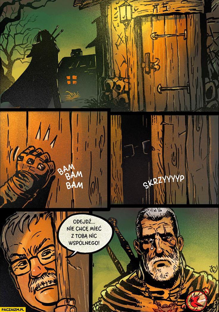 Wiedźmin Sapkowski odejdź, nie chcę mieć z Tobą nic wspólnego komiks