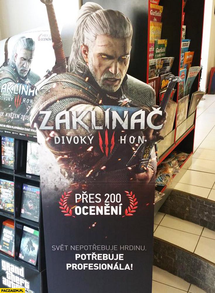 Wiedźmin Zaklinać w Czechach