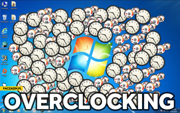 Windows overclocking