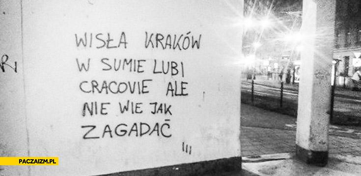 Wisła Kraków lubi Cracovie ale nie wie jak zagadać