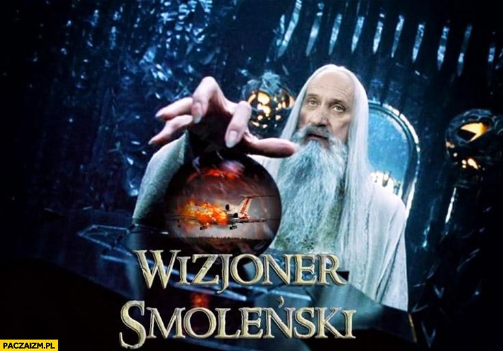 Wizjoner Smoleński Macierewicz Saruman Biały czarodziej mag