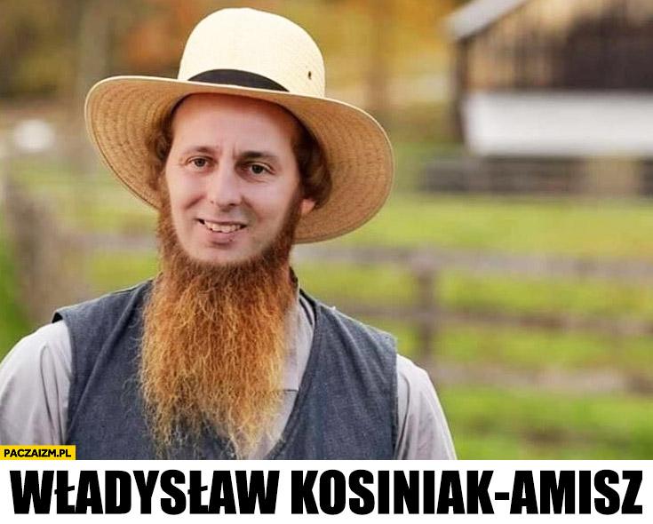 Władyslaw Kosiniak-Amisz przeróbka photoshop