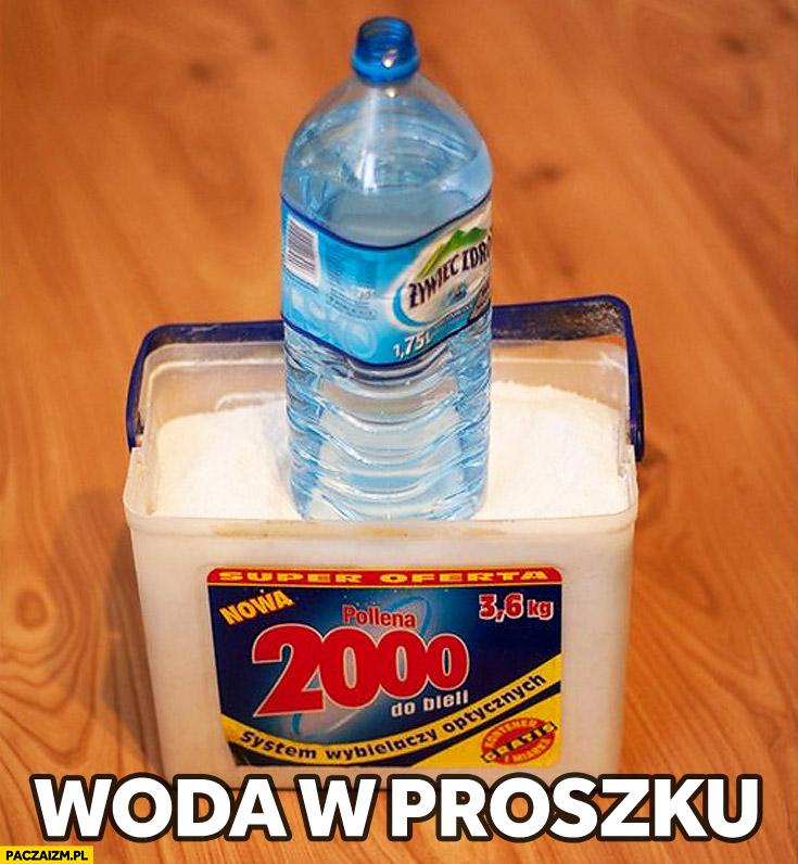 Woda w proszku