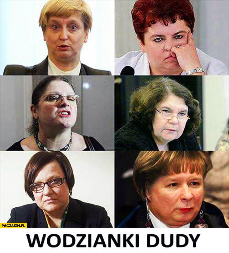 Wodzianki Dudy kobiety posłanki PiS Kaczyński