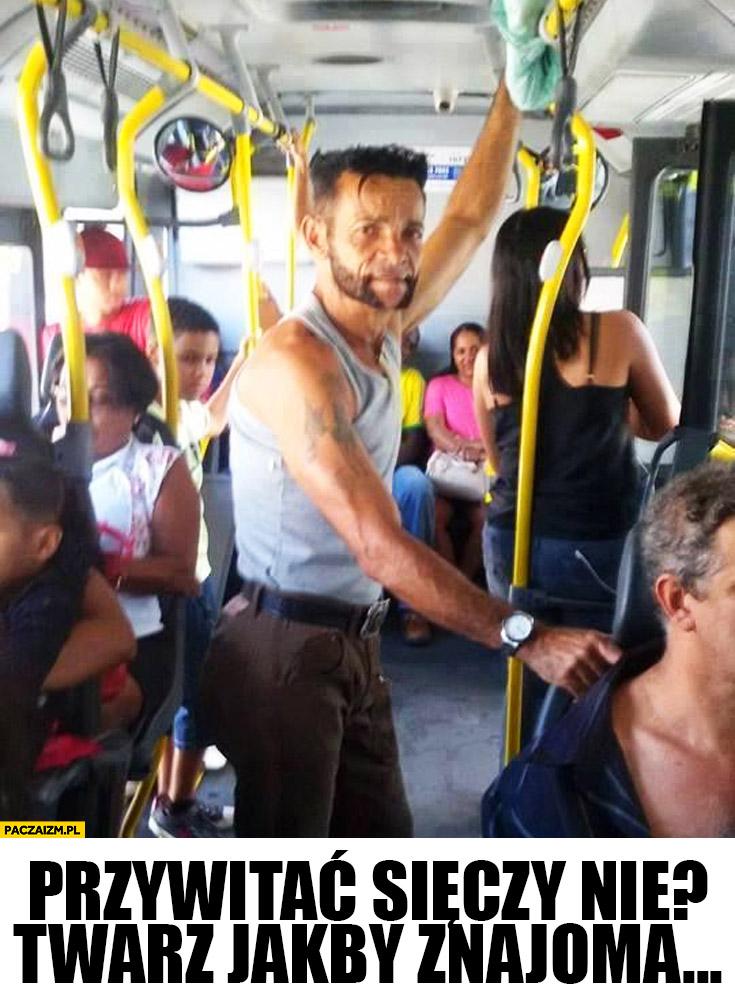 Wolverine w autobusie wersja podmiejska Ruski