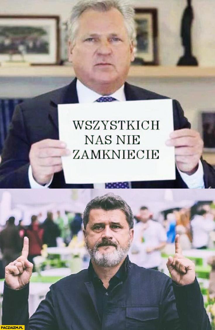 Wszystkich nas nie zamkniecie Kwaśniewski Palikot