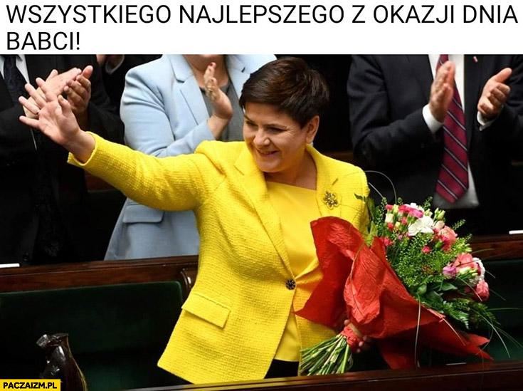 Wszystkiego najlepszego z okazji dnia babci Beata Szydło