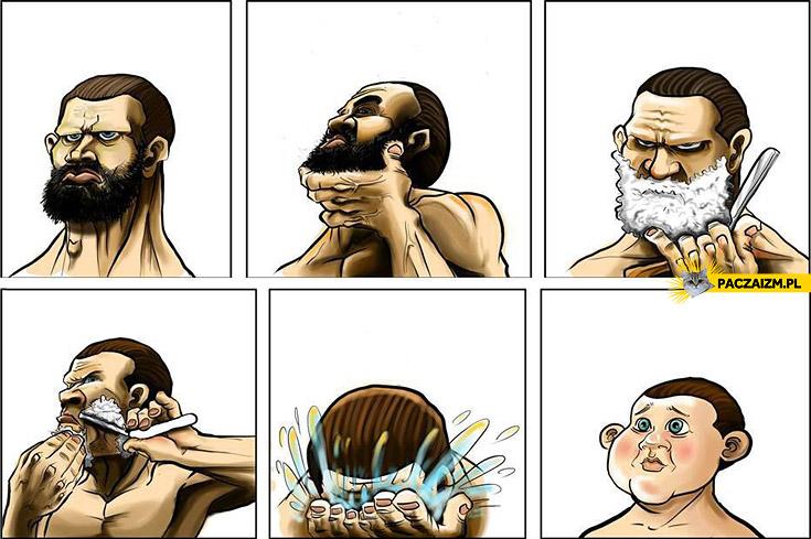 Wygląd po goleniu