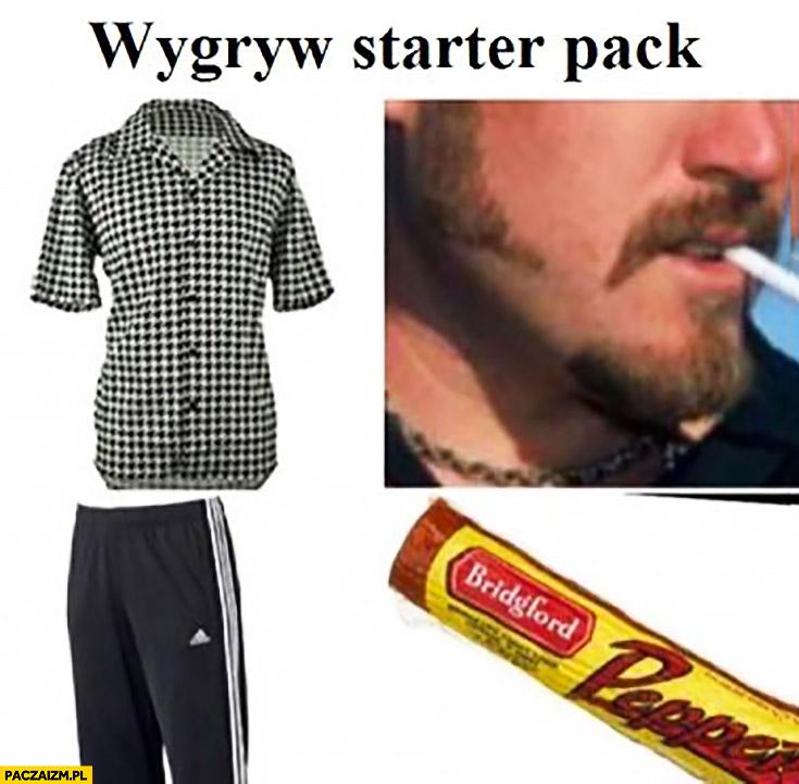 Wygryw starter pack Ricky Chłopaki z baraków