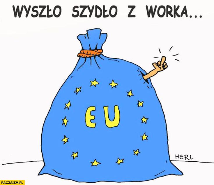 Wyszło Szydło z worka Unia Europejska