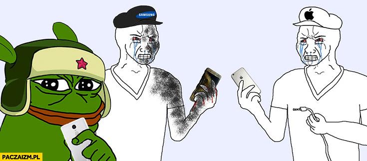 Xiaomi w porównaniu do Apple i Samsunga