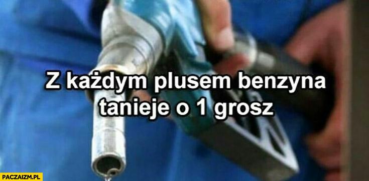 Z każdym plusem lajkiem benzyna tanieje o 1 grosz
