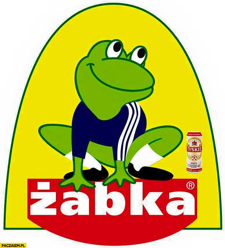 Żabka prawilny strój logo przeróbka