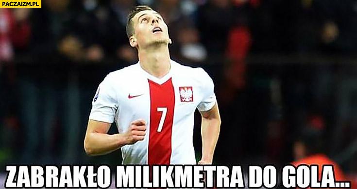 Zabrakło milikmetra do gola Arkadiusz Milik