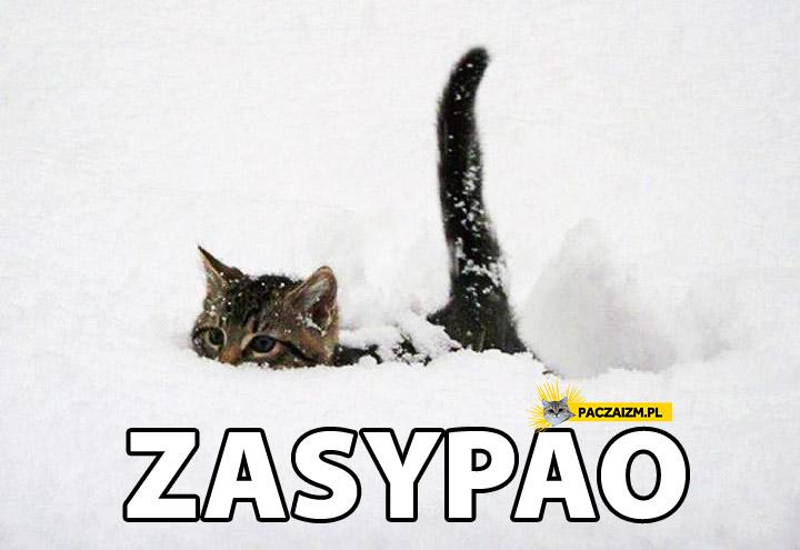 Zasypao