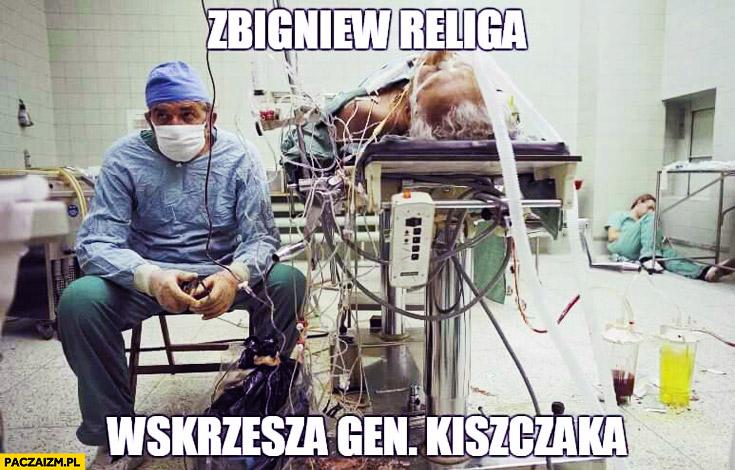 Zbigniew Religa wskrzesza Generała Kiszczaka operacja