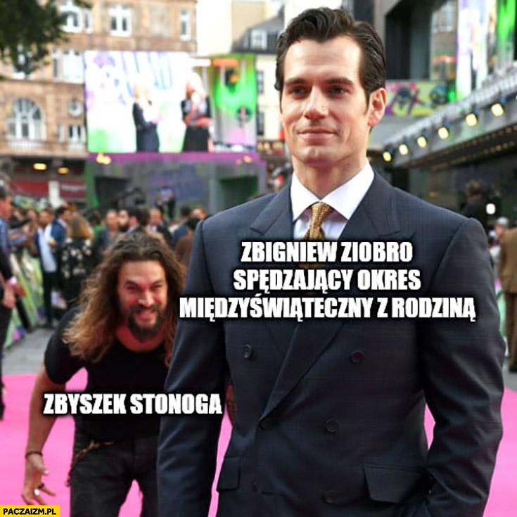 Zbigniew Ziobro spędzający okres międzyświateczny z rodzina vs Zbyszek Stonoga