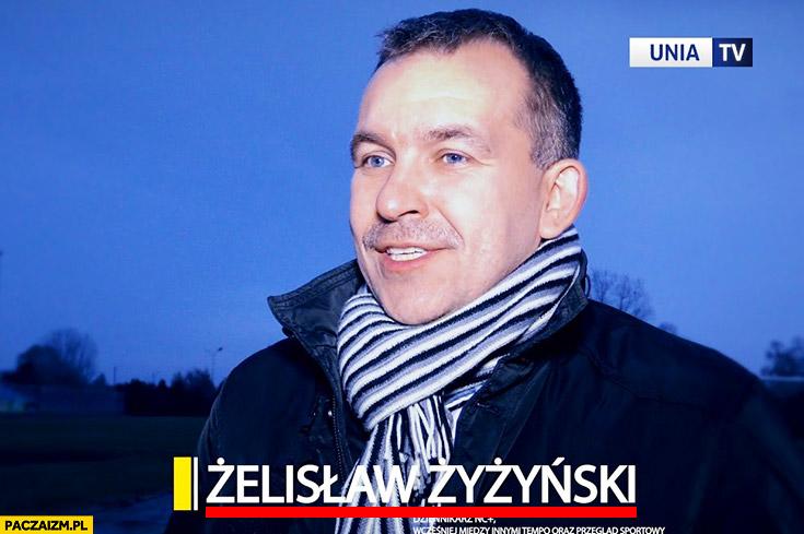 Żelisław Żyżyński ciekawe imię i nazwisko