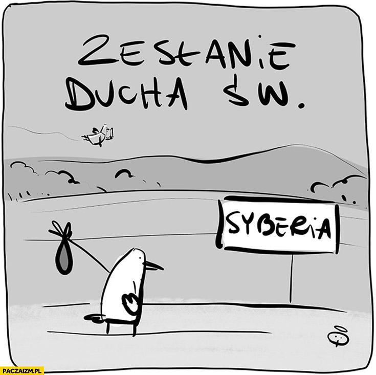 Zesłanie Ducha Świętego na Syberię