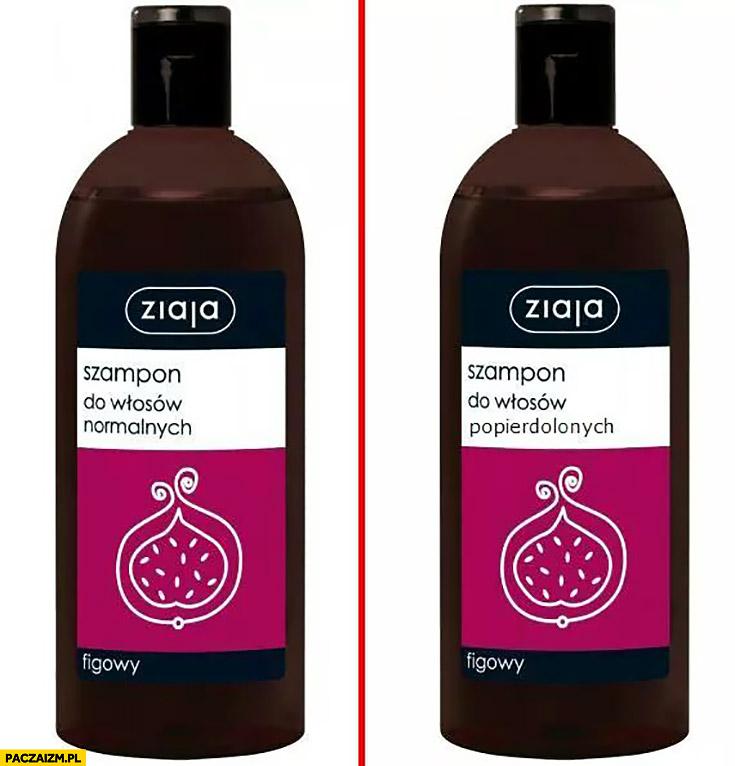 Ziaja szampon do włosów normalnych, do włosów popieprzonych