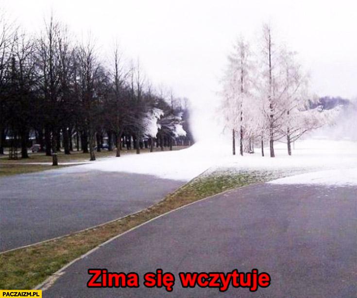 Zima się wczytuje
