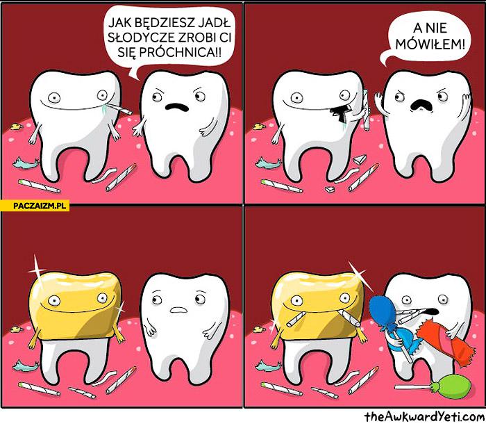 Złoty ząb