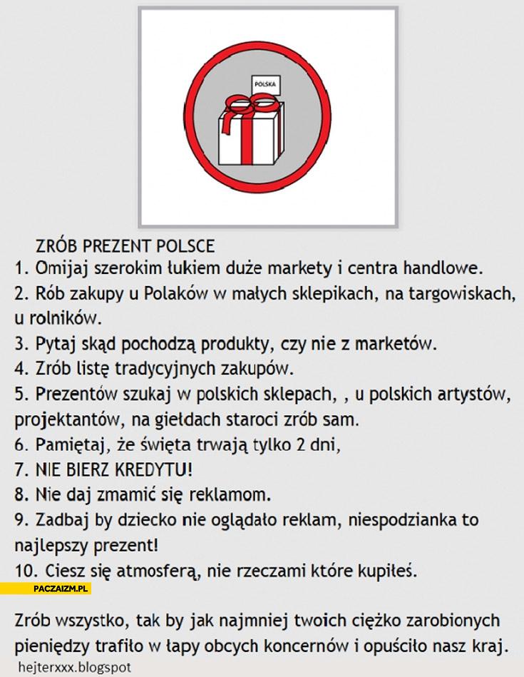 Zrób prezent Polsce