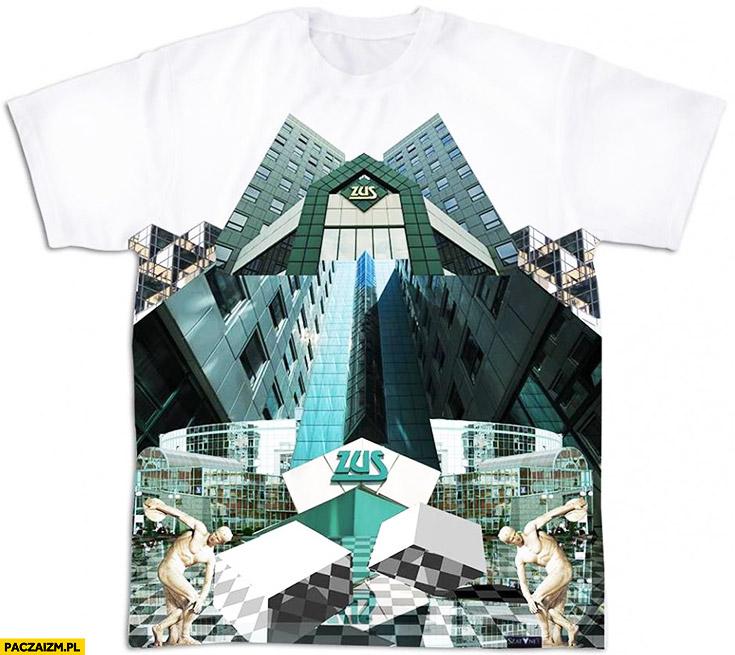 ZUS t-shirt koszulka Zakład Ubezpieczeń Społecznych