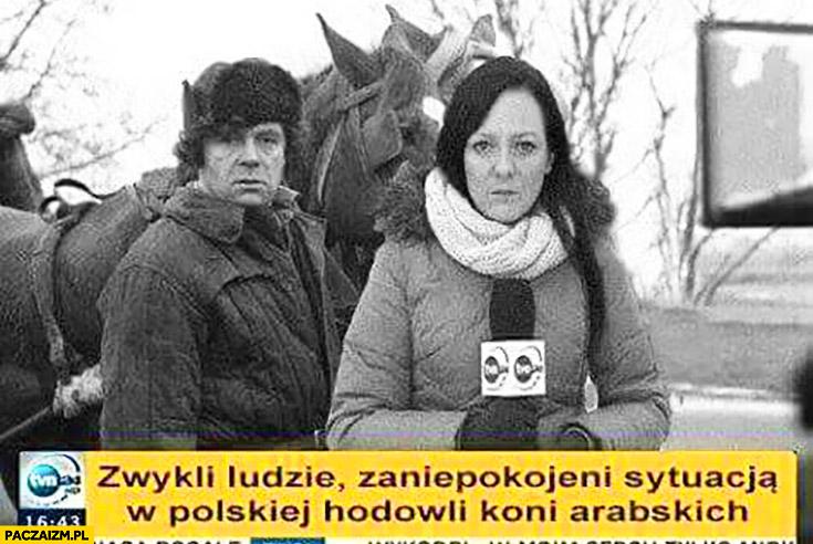 Zwykli ludzie zaniepokojeni sytuacja w polskiej hodowli koni arabskich Tym TVN