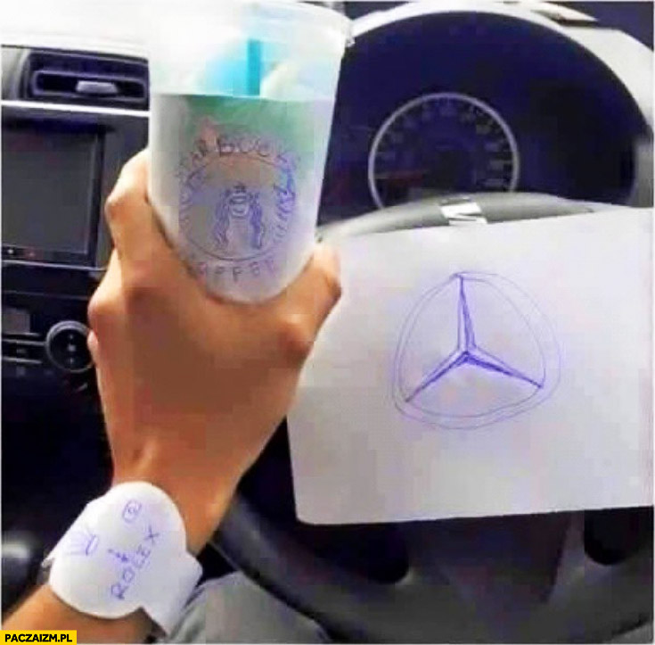 Życie na bogato Rolex Starbucks Mercedes